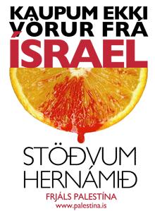 Ekki kaupa vörur frá Ísrael